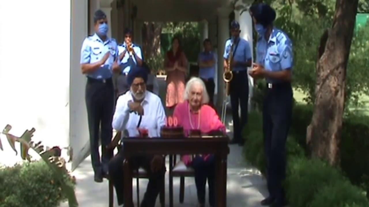 Warm greetings to Sqn Ldr Dalip Singh Majithia (Retd) on his 100th #Birthday.