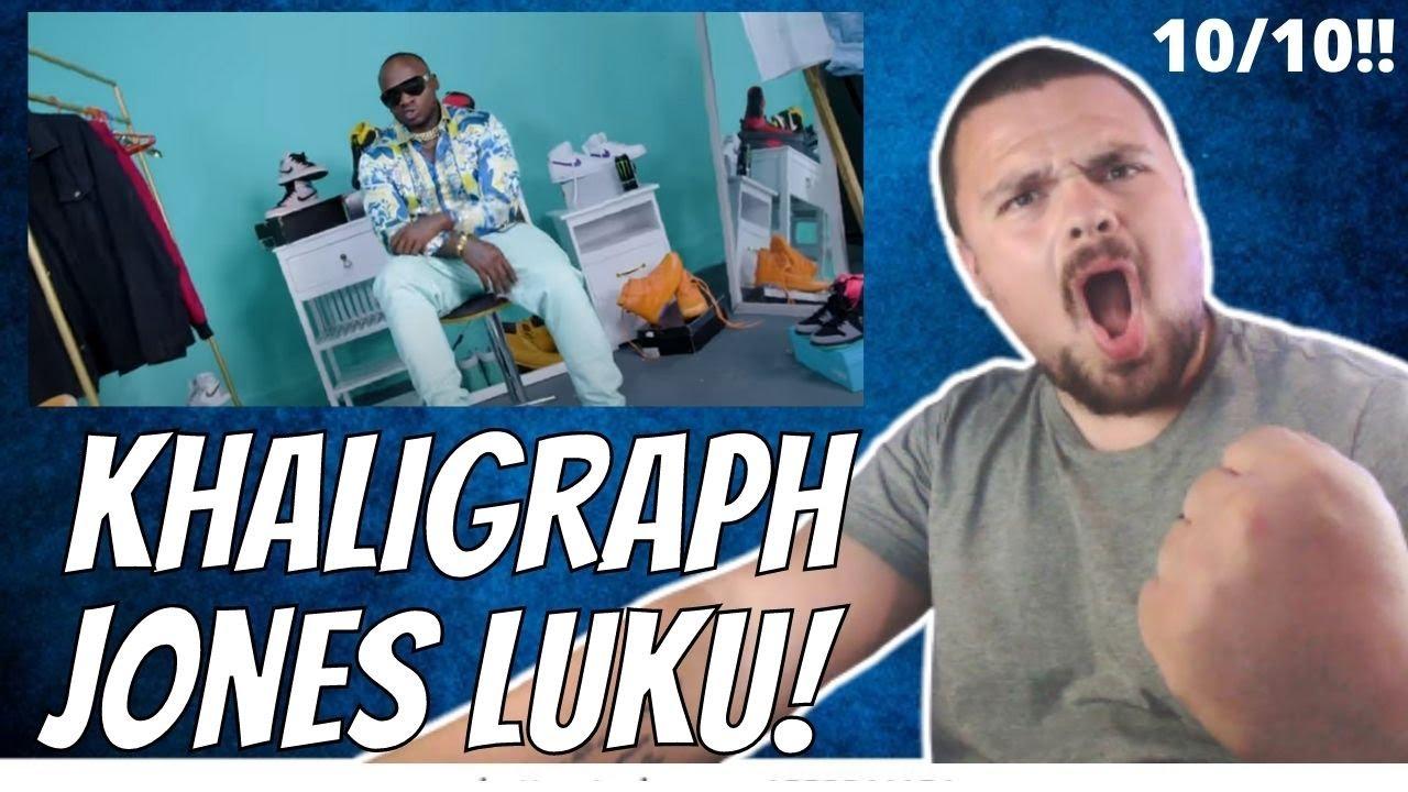 Download LUKU - KHALIGRAPH JONES ft THE INDUSTRY (OFFICIAL VIDEO){REACTION!}