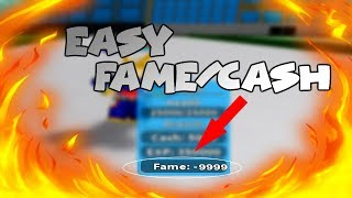 [Roblox] Boku No Roblox: Remastered | FASTEST WAY TO GET CASH/FAME EASY!!