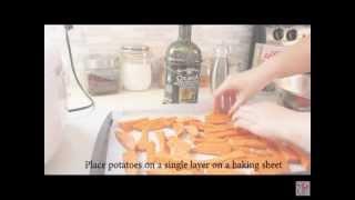 Easy Recipe: Oven Baked Sweet Potato Fries
