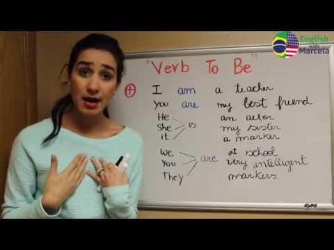 Aula de ingles - Verbo to be/ English with Marcela