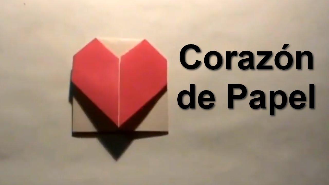 Make 3d Live Wallpaper Como Hacer Corazones De Papel Youtube