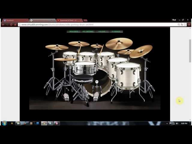virtualdrumming video, virtualdrumming clip