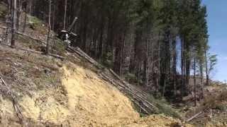 ClimbMAX Steep Slope Harvester Demonstration