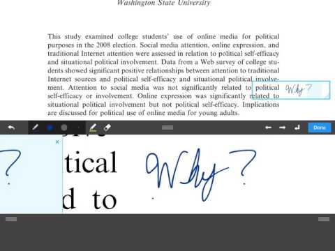 How to Better Annotate in College