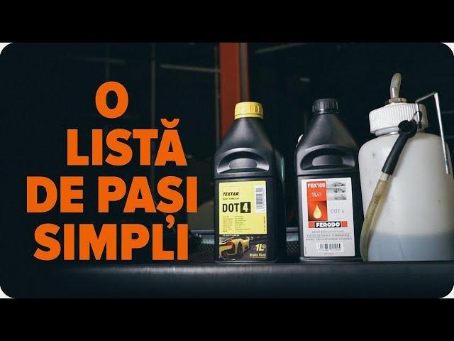 Cum să înlocuieți lichidul de frână și să evacuați aerul din sistemul de frânare | AUTODOC