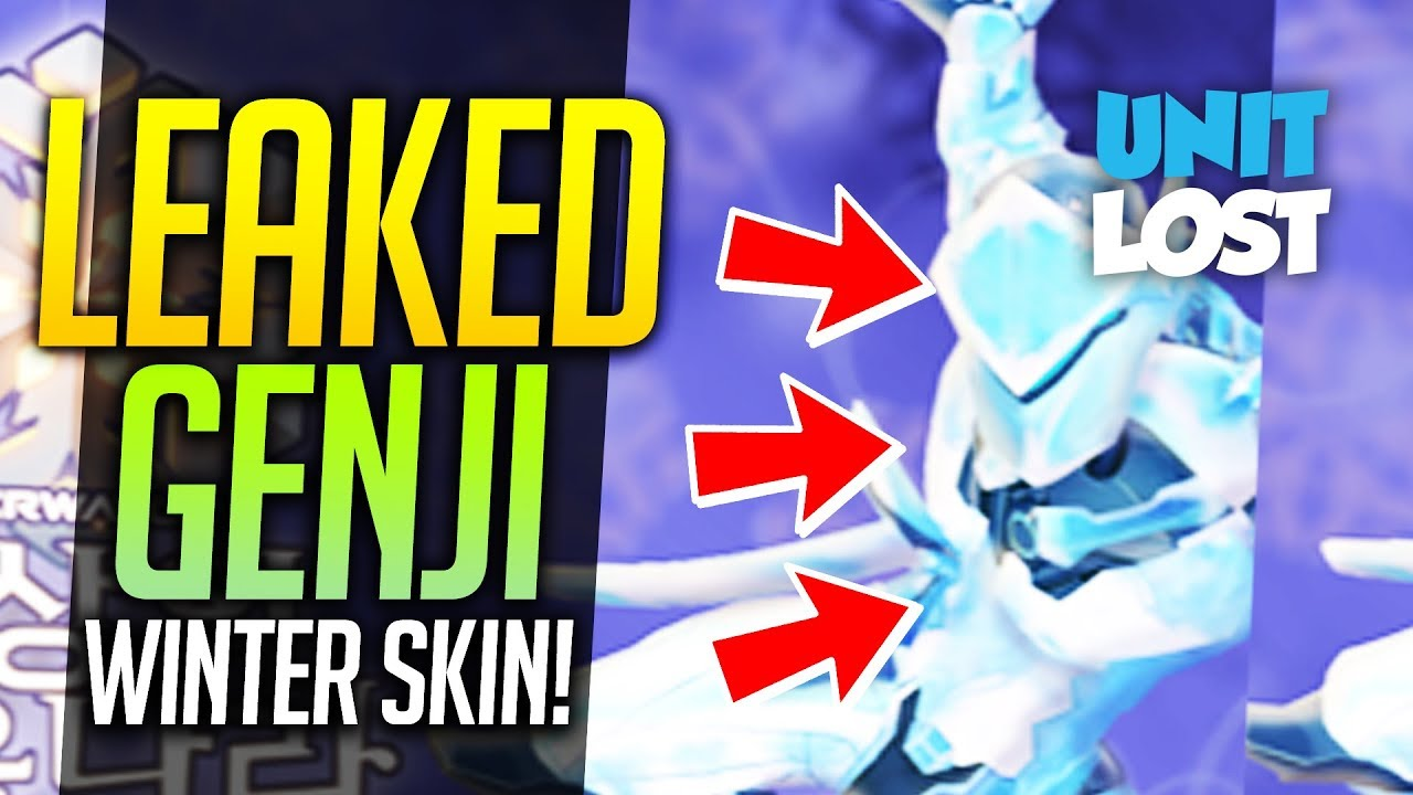 overwatch genji skin leaked winter wonderland 2017 event dates leaked