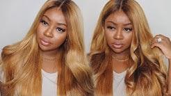 Easy Honey Blonde Hair Dye Tutorial | Westkiss