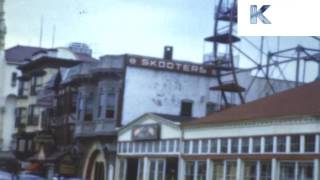1950s Summer In Asbury Park New Jersey Colour Home Movies