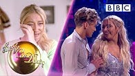 Emotional night for YouTuber Saffron Barker and her nan - Week 4 | BBC Strictly 2019