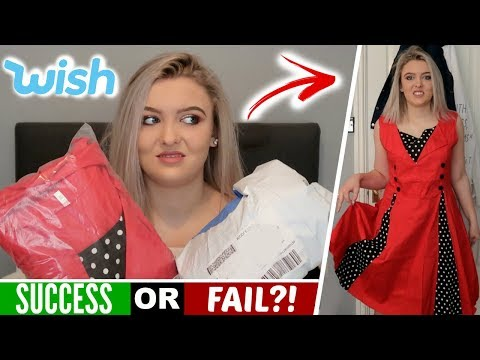 I Wore Wish Clothing for An Entire Week! *EMBARRASSING*