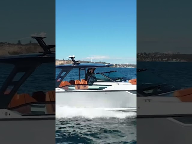 Saxdor 320 GTO test drive by Dans Boat Life