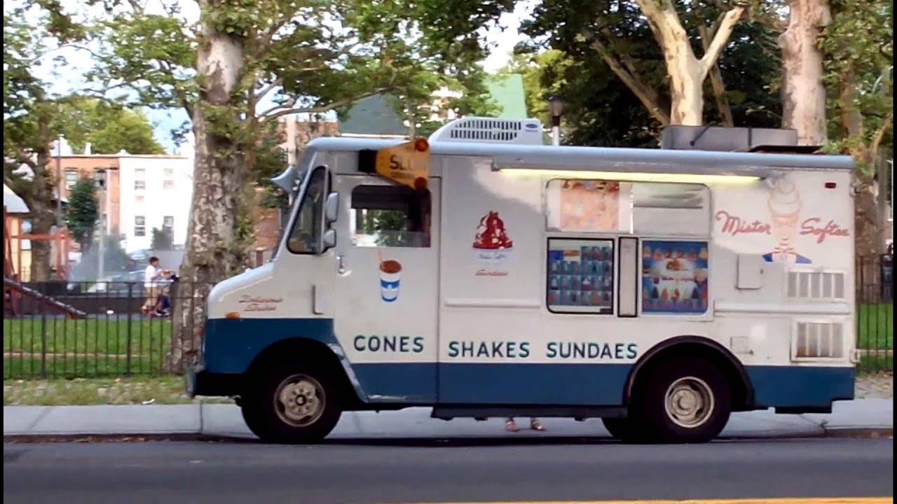 Ice Cream Truck Mr Softee Mister Softy, Brooklyn...