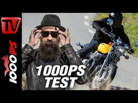 1000PS Test - Honda CB1100EX / CB1100RS 2017: Die letzten Luftkühler?