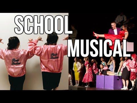 GREASE SCHOOL MUSICAL BEHIND THE SCENES
