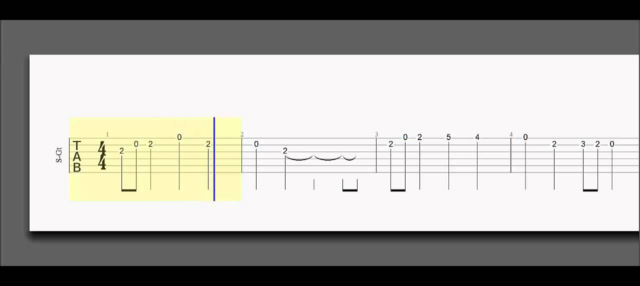 Lord Of The Rings On Guitar Tab