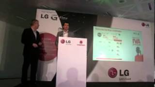 LG y Vodafone® España(País) presentan el renovado LG® G Flex curvo