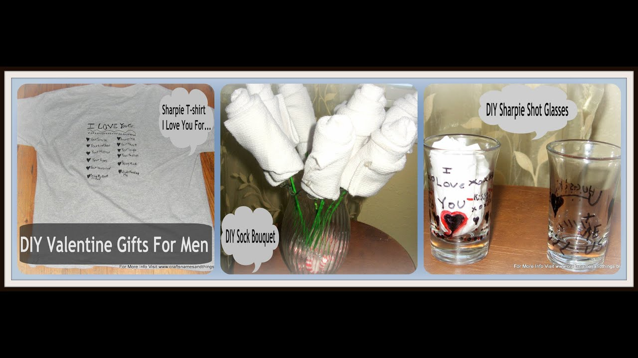 DIY Gift Ideas For Your Boyfriend Tutorial Gifts Men Cute