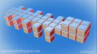 Fractal Robots- Self Repair ( HD 720p )