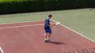 tennis:Thomas vs Quentin