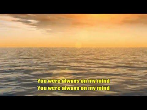 Karaoke - Always On My Mind - Michael Buble
