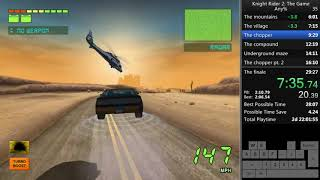 Knight Rider 2: The Game Any% 26:49 (w/o loads) [WR]
