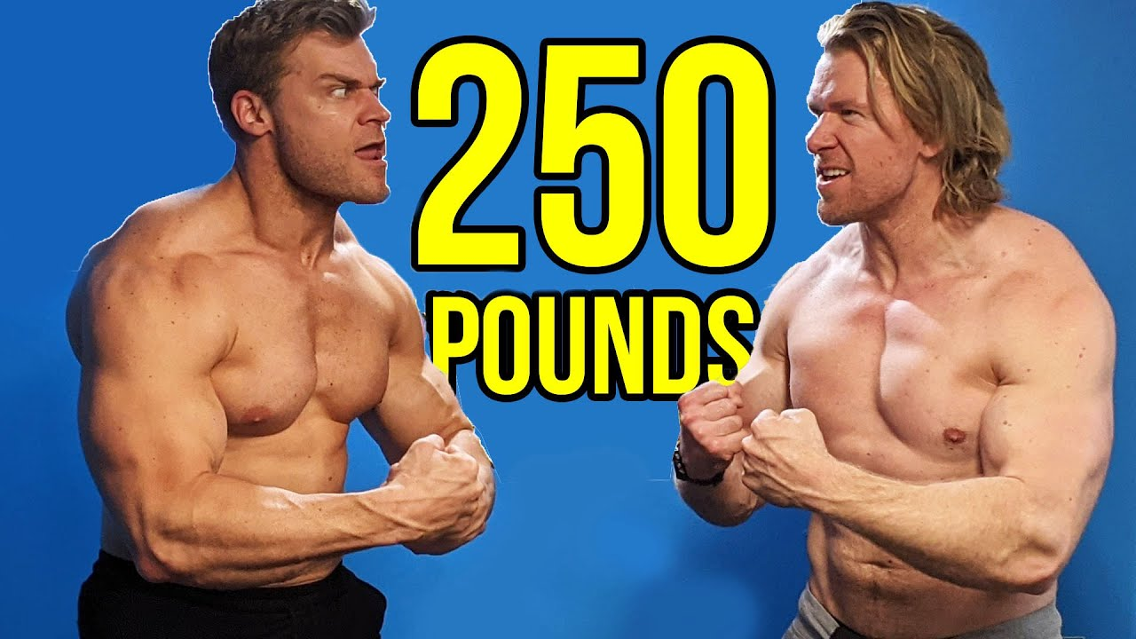 Which Brother Can Reach 250 Lbs First? | Incredible Bulk Bros