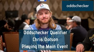 Oddschecker Qualifier Chris Dotson Winning His Way to Vegas