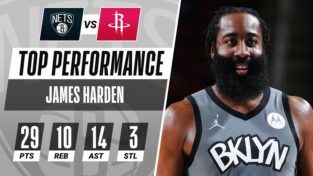 James Harden GOES OFF For Triple-Double In Houston! - NBA