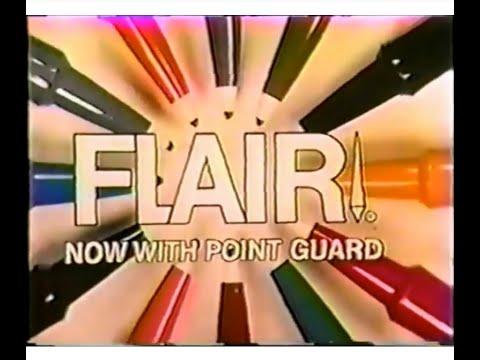 Flair 'Super Pens' Commercial (1974)