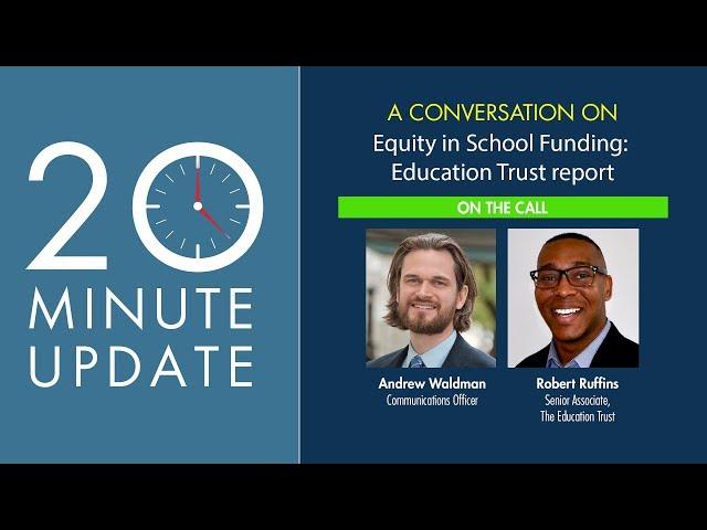 Equity in School Funding: Education Trust report