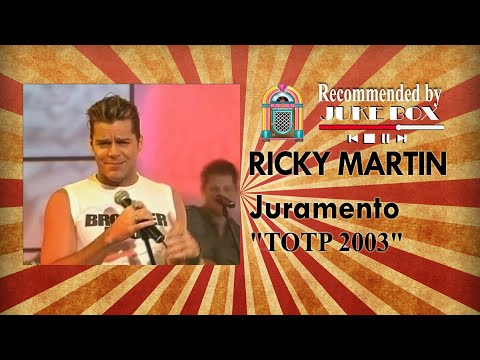 Download Ricky Martin - Juramento [Top Of The Pops 2003]