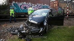 Car v Train,  3 injured,  Taupaki, near Auckland
