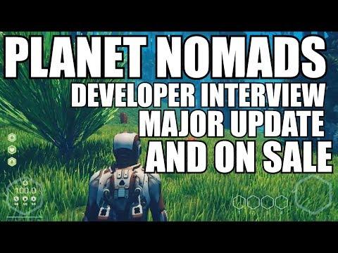 DEVELOPER INTERVIEW!! Planet Nomads MAJOR UPDATE/ ON SALE