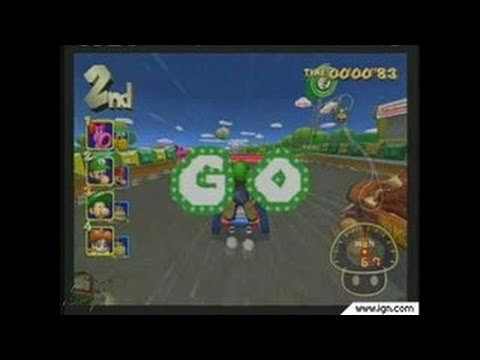 Mario Kart: Double Dash!! GameCube Gameplay - E3 2003