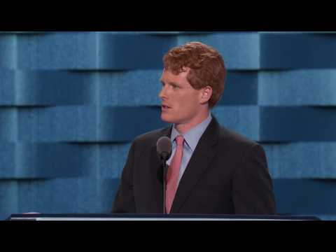 Representative Joseph Kennedy III at DNC 2016
