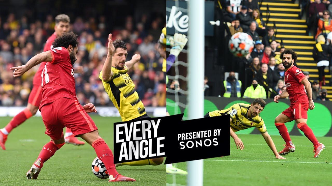 Every angle of Mo Salah's world class goal at Watford