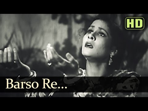 Barso Re Barso Kale Badarwa - Tansen Songs - Khursheed Hits - Hindi Old Songs