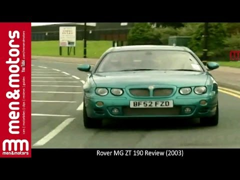 Rover MG ZT 190 Review (2003)