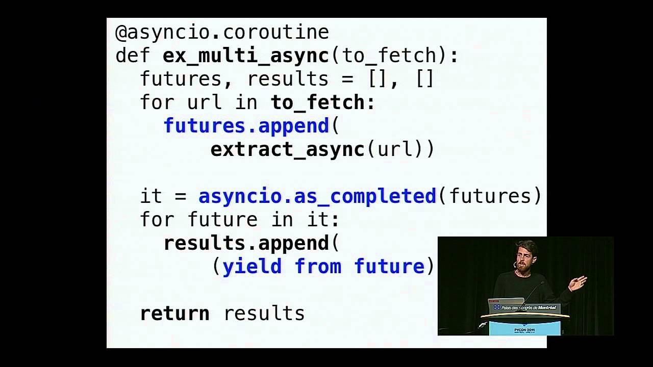 Writing a web crawler in Python 3 5+ using asyncio – Edmund
