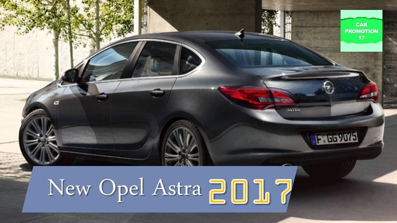 2017 Opel Astra New Interior & Exterior - YouTube