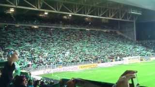 Derby Saint Etienne - Lyon: Allez les Verts et coup d'envoi