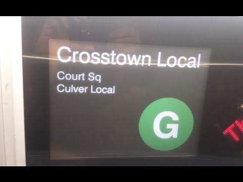 On Board Court Square Bound R160 (G) Train From Coney Island to Hoyt-Schermerhorn via Culver Line