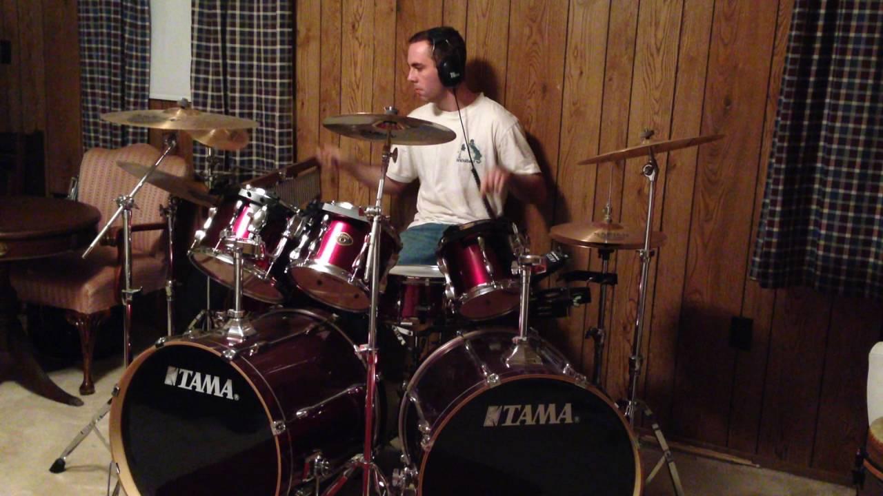 Improv Drumming On Tama Drum Set W Double Bass