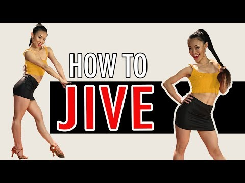 Basic JIVE Steps Dance Tutorial | Footwork Friday (Ep28)