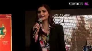 Sonam Kapoor Promoting Khoobsurat In Mithibai College Part 1