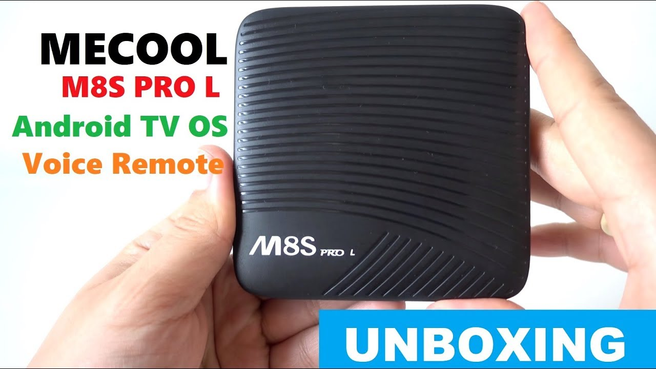 MECOOL M8S PRO L with Voice Remote