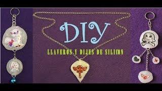 DIY Aprende a hacer Llaveros y dijes de silicon con Tiffy Thumbnail