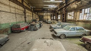 Vehicles of the abandoned shed - Urbex