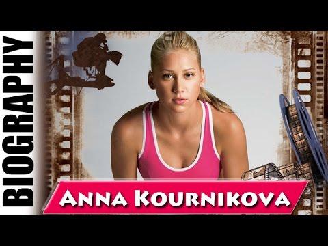 Russian Professional Tennis Player Anna Kournikova